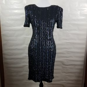 Adriana Papell evening dress